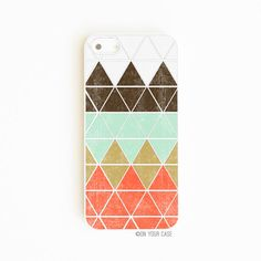 iPhone 5 Case iPhone 5S Cases Geometric in Mountain