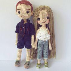 #ตุ๊กตาถักจากฝ้าย #dolls #dolloutfit #dollthailand