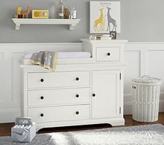 Larkin Hi-Lo Changing Table #PotteryBarnKids - ordered and arriving soon :-)