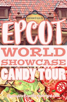 If Disney offered a candy tour of the World Showcase, I would be the first one to sign-up. Candy is a sweet exploration of cultural traditions. Anyone who was lucky enough to see Miyuki (the candy lady) create her amazing candy art in the Japan pavilion knows the stories that can be told through candy. It's...