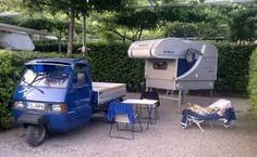 Dismountable Piaggio Camper