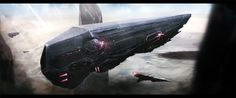 Desert Outpost by zeedurrani on DeviantArt | Digital Art / Drawings & Paintings / Sci-Fi | Futuristic Concept Vehicle Spaceship Spacecraft