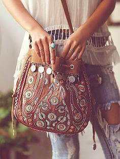 Bag where you can put your Boho Heart