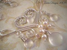 Love in Flight---Bridal Necklace | Flickr - Photo Sharing!