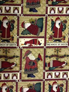 Debbie Mumm fabric by the yard  The Magic of by KoopsKountryKalico, $8.99
