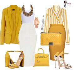 Ein von D Ni inspirierter Look Trajes Business Casual, Business Casual Outfits, Classy Outfits, Stylish Outfits, Mode Outfits, Fashion Outfits, Womens Fashion, Fashion Trends, Work Fashion