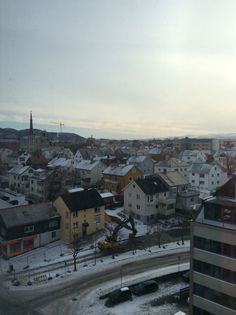View from my hotel in Bodø...northern Norway