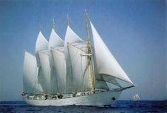 """Les plus beaux voiliers du XXe siècle: """"Creoula"""""""
