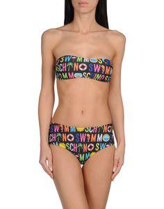 Bikini a fascia colorato di MOSCHINO SWIM