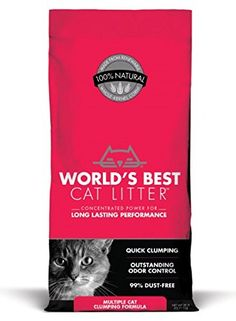 World's Best Cat Litter™ offers a variety of natural cat litter formulas — clumping, multi-cat, scented and more. Learn about our best cat litter formulas, and find out what other cat-lovers have to say. Shop online or find a retailer near you. Best Cat Litter, Cat Litter Mat, Litter Box, Cool Cats, Flushable Cat Litter, Cat Litter Brands, Pet Odors, Pet Supplies, Animaux