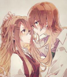 Anime Couples Hugging, Hot Anime Couples, Anime Couples Drawings, Anime Love Couple, Couple Hugging, Fan Art Anime, Anime Cupples, Otaku Anime, Anime Art Girl