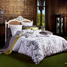Quilt cover set doona duvet double size mahalia cotton kas 2 x pillowcases A Duvet, Linen Bedding, Quilt Cover Sets, Quilt Sets, Online Bedding Stores, Soft Furnishings, Sheet Sets, Pillow Cases, Cushions