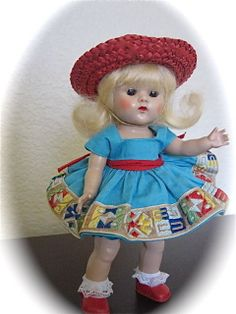 ~~ORIGINAL 1950'S VOGUE GINNY DOLL ENSEMBLE~~