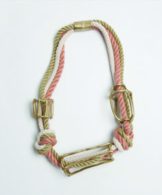 Collana Cage Necklace by Fort Standard, giovane studio di design con sede a Red Hook, Brooklyn