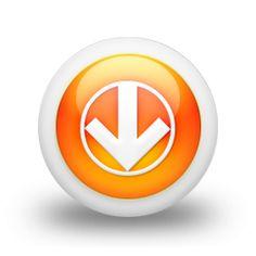 Circled Down Arrow Icon #105154 » Icons Etc