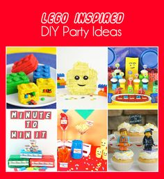 All sorts of great Lego party games, ideas, and more! Your Lego lover will absolutely love the Lego Minute to Win It games!