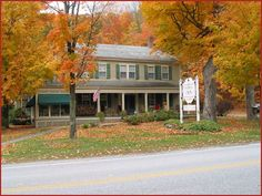 Waybury Inn, Middlebury VT...a charming country inn with an outstanding breakfast!  Pull up a rocking chair on the porch and enjoy the morning!