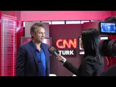 After our presentation of 'Around the World in 80 Treasures' at the Marketing Summit in Istanbul. I was interviewed by CNN Turkey. Schaefer, Wow Factor, The Marketing, Storytelling, Interview, Around The Worlds, Author, Inspirational, People