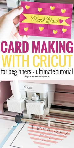 Pin It! Learn how to make for any occasion with your Cricut Maker or Explore! Pin It! Learn how to make for any occasion with your Cricut Maker or Explore! Cricut Birthday Cards, Cricut Cards, Cricut Fonts, Cricut Vinyl, Cricut Air, Cricut Help, Cricut Explore, Fun Diy Crafts, Creative Crafts
