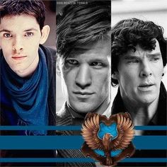 I'm always sorting other characters into Ravenclaw. These three always make the cut. <3 #TeamRavenclaw