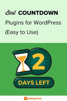Create a sense of urgency and boost sales with these best countdown plugins for WordPress. Create normal and evergreen timers for sales, coupons, and more. Countdown Clock, Countdown Timer, Start A Website, Email Marketing Services, Best Email, Marketing Techniques, Blog Topics, Wordpress Plugins, Lead Generation