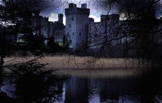 Ashford Castle is a medieval castle turned five star luxury hotel near Cong on the Mayo/Galway Border in Ireland, on the shore of Lough Corrib. Real Haunted Houses, Most Haunted, Haunted Places, Gothic Castle, Medieval Castle, Ashford Castle Ireland, English Romance, Images Of England, Abandoned Asylums