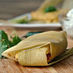 Vegan Tamales HealthyAperture.com