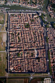 ✈️ Photo aérienne de : Aigues-Mortes - Gard (30)