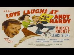 """Love Laughs at Andy Hardy is a 1946 American film directed by Willis Goldbeck starring Mickey Rooney. The film is also known under its American promotional title Uncle Andy Hardy. Poor Andy, all he wants to do is get to town and continue to woo his girl and ask her hand in marriage. Andrew """"Andy"""" Hardy met his sweetheart Kay Wilson in college,..."""