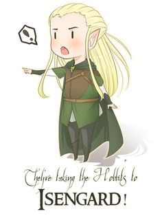 They're Taking the Hobbits to ISENGARD! the hobbits, the hobbits, the hobbits, the hobbits, to Isengard to Isengard! They're taking the Hobbits to Isengard Mirkwood Elves, Legolas And Thranduil, Misty Eyes, Jrr Tolkien, Tolkien Books, Middle Earth, Lord Of The Rings, Anime Style, Lotr