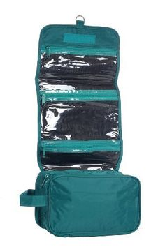 Hanging Toiletry Cosmetics Travel Bag, Teal by BAGS FOR LESSTM Bags For Less,http://www.amazon.com/dp/B0055WQEWQ/ref=cm_sw_r_pi_dp_S5gyrb8BC8EE4EA1