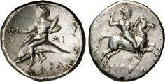 NumisBids: Numismatica Varesi s.a.s. Auction 65, Lot 5 : CALABRIA - TARENTUM - PRIMA ALLEANZA ROMANA (272-235 a.C.) Nomos. ...