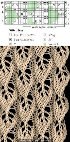 Leaf lace pattern ~~ http://www.liveinternet.ru/users/kassir-lera/post329151690/ - created via http://pinthemall.net