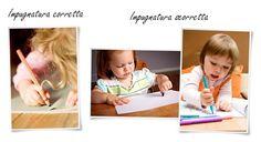 Brucaliffo Giochi & Giocotherapy soluzioni intelligenti per bambini con bisogni speciali: Tre passi per una giusta impugnatura della matita