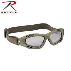 $13.99 Rothco: Rothco Ventec Tactical Goggles - feature a lightweight foam padded frame. The goggle lenses feature an anti-scratch & anti-fog coating, smoke grey, shatterproof Polycarbonate lens. Lenses also provide UV400 protection.
