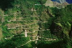 terrible road to Machu Picchu