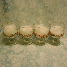 AtMemoryLane, I have these great pieces of Americana.    These Christmas clear…