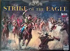 Rezension von Strike of the Eagle auf dem Brettspielblog Homo Ludens