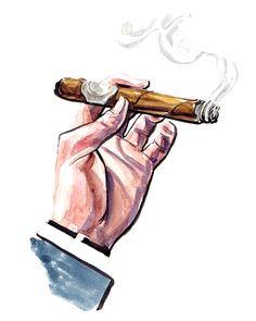 Nat Sherman Cigar / 'The Illustrator'