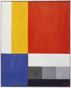 "De Stijl 1, 1922.  Peter Keler enrolled at the Weimar Bauhaus in 1921, where he took the preparatory course with Johannes Itten and also mural painting with Schlemmer and Kandinsky. He had the opportunity to put theory into practice in the design of the offices of the ""Faguswerk"" in Alfeld, amproject led by Walter Gropius. He executed first furniture designs for the 1923 Bauhaus exhibition, among them his most acknowledged work, a cradle of geometric bodies."