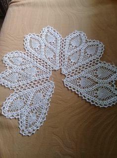 Free Crochet Doily Patterns, Crochet Motif, Crochet Shawl, Crochet Doilies, Crochet Flowers, Knitting Patterns, Knit Crochet, Crochet Decoration, Lace Table