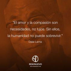 Dalai Lama: Amor y compasión http://reikinuevo.com/dalai-lama-amor-compasion/