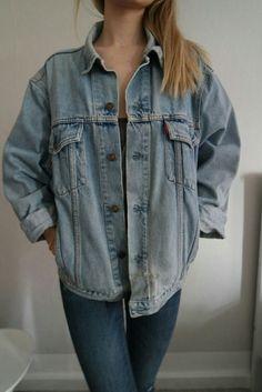 - Vintage Levi's Jeansjacke - S - L (je nachdem, wie Oversize man es mag) - selten getragen - selbst erkreiselt