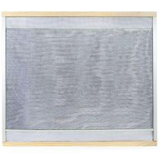 Wood Frame Adjustable Window Screen, 15 Inch X 37 Inch, Multicolor | Adjustable  Window Screens And Products