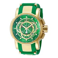 Invicta Men's 10565 S1 Rally Quartz Chronograph Green Dial Watch - Free Shipping Today - Overstock.com - 17699879 - Mobile