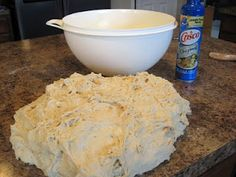 Depression Era Homemade Bread - Makes 8 loaves, though. I need more loaf pans!this recipe calls for a bread baking party! Old Recipes, Vintage Recipes, Bread Recipes, Cooking Recipes, Tortilla Recipes, Recipies, Frugal Recipes, Cooking Ideas, Depression Era Bread Recipe