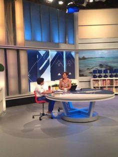 Un momento de la entrevista en Castilla la Mancha en el Corazón con la periodista Sonia Gozález