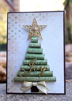 Christmas Tree Joy Card