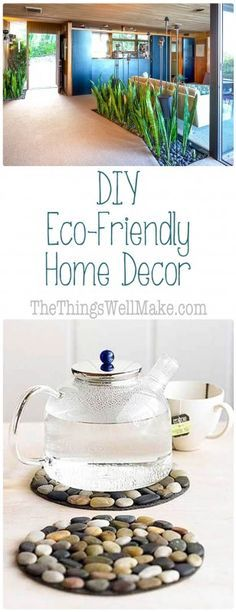 Save money when decorating your house by upcycling items that might otherwise be thrown out, and instead creating fun and unique, eco-friendly home decor.
