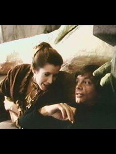 Luke skywalker mark hamill Princess Leia carrie fisher Star Wars behind the scenes